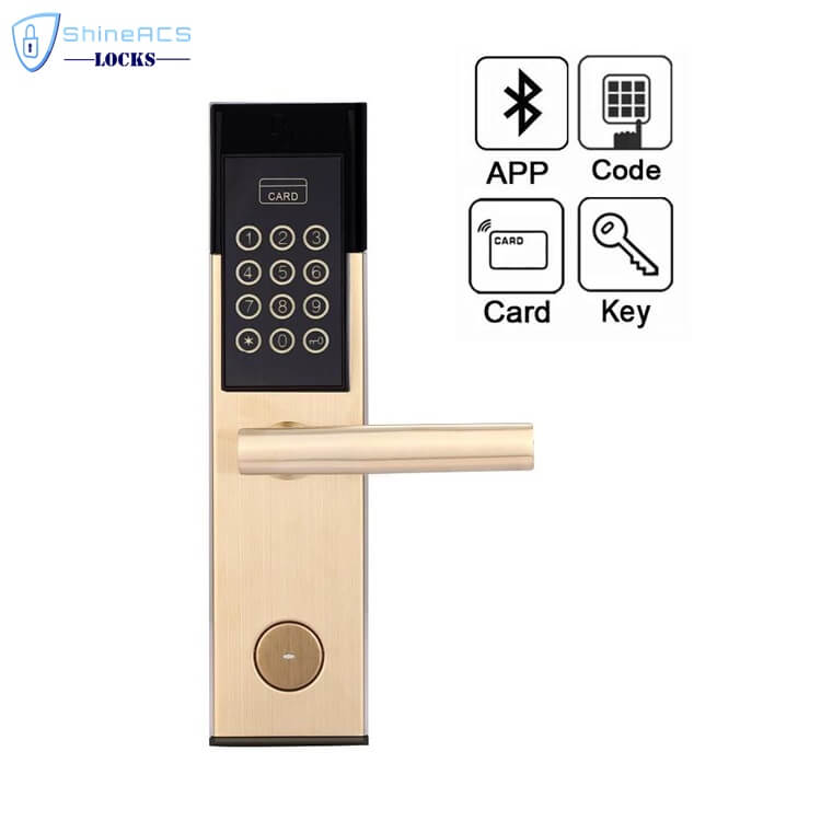 Hotel RFID Keypad Password Door Lock SL P8813 1 - Smart Digital Keypad Code Door Lock for Home and Hotel SL-P8813