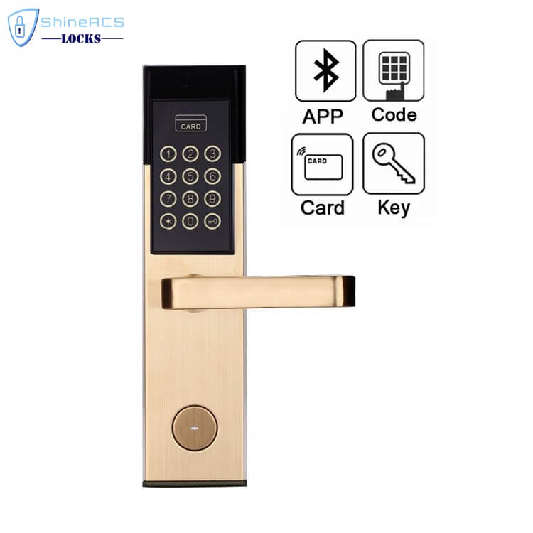 Hotel RFID Keypad Password Door Lock SL P8813 2 - Smart Digital Keypad Code Door Lock for Home and Hotel SL-P8813