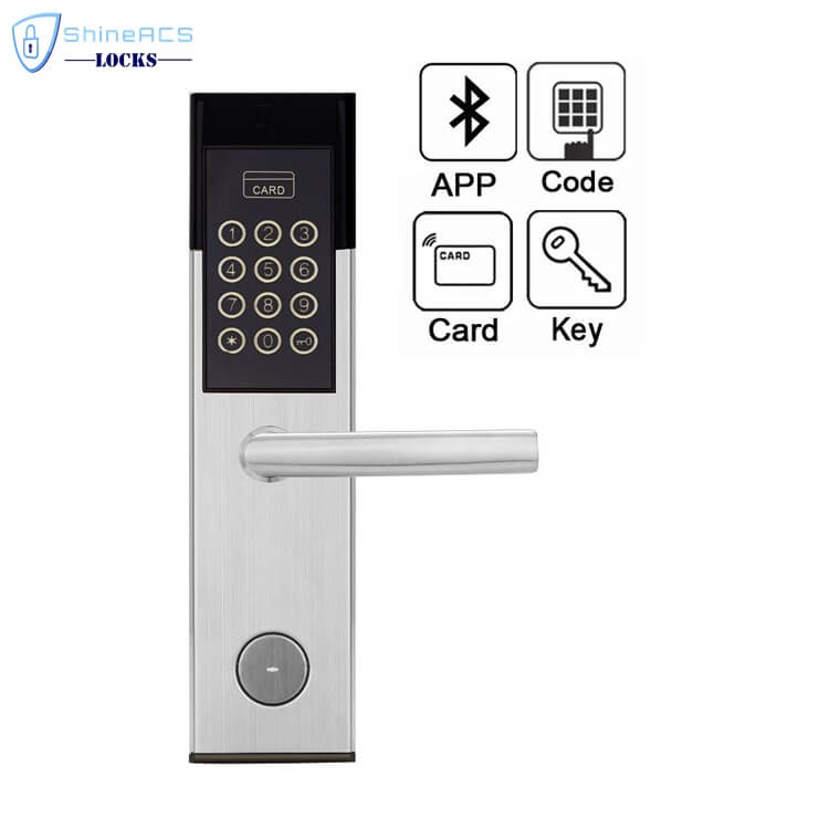 Hotel RFID Keypad Password Door Lock SL P8813 3 - Smart Digital Keypad Code Door Lock for Home and Hotel SL-P8813