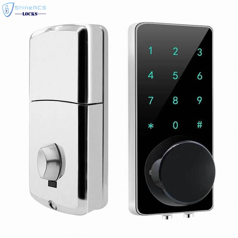 SL HS8055 17 - Bluetooth Smart Electronic Door Lock With Deadbolt for Apartments