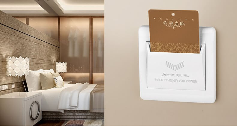 hotel energy saving switch - How to Choose RFID Key Card Door Locks for Hotel Rooms?