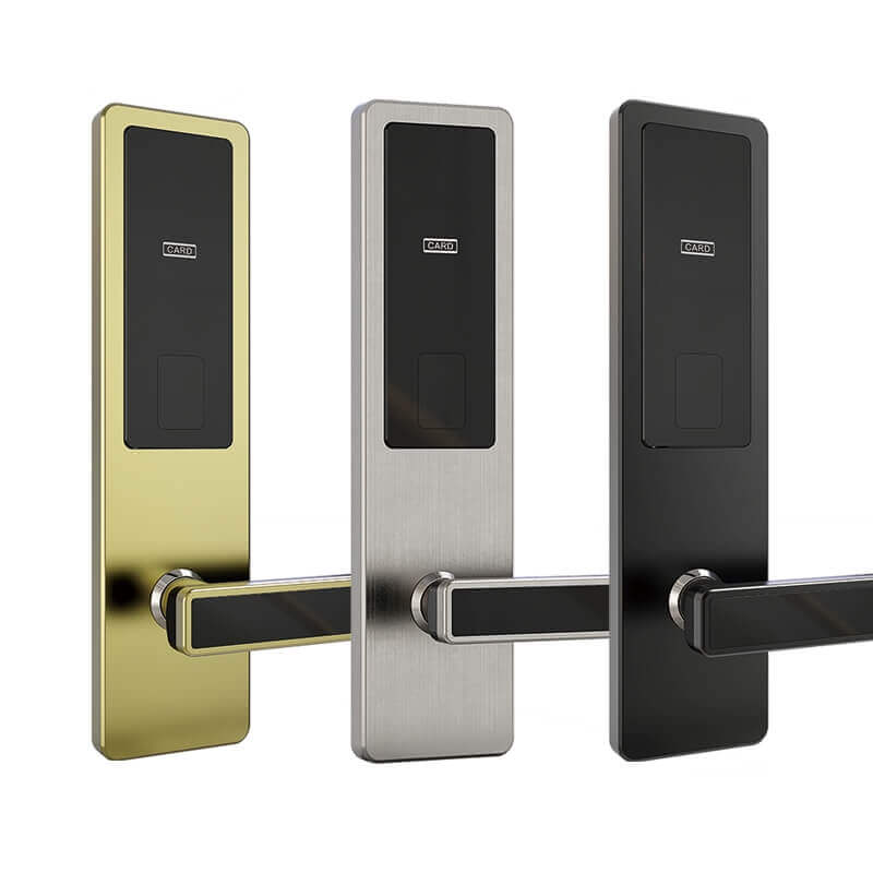 1623576017 Electronic Commercial Key Card Door Lock for Hotels Room SL HA5 1 - Electronic Commercial Key Card Door Lock for Hotels Room SL-HA5