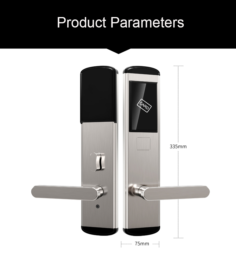 1623656871 Electronic RFID Entry Key Card Lock for Hotel Doors Security SL HA2 13 - Electronic RFID Entry Key Card Lock for Hotel Doors Security SL-HA2
