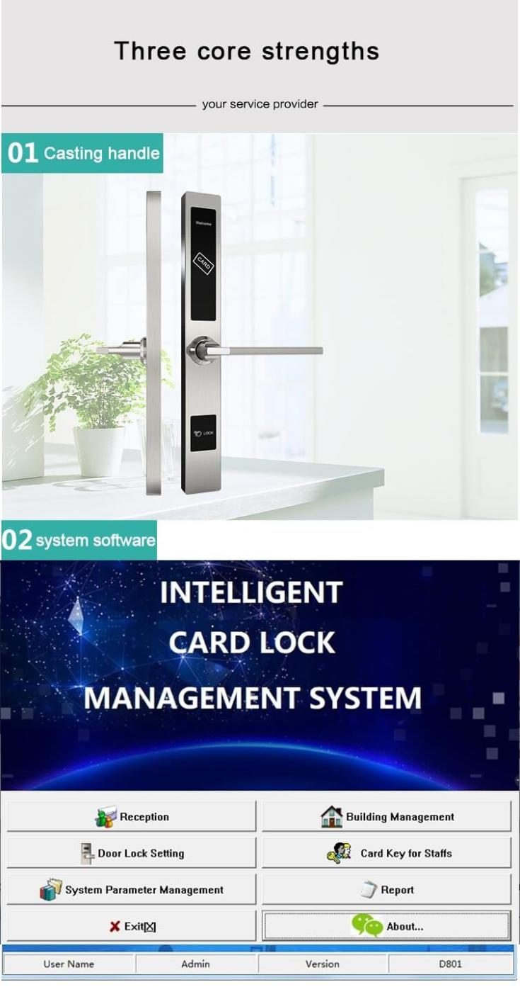 resize,m fill,w 735,h 1410# - Electronic Commercial Rfid Door Lock For Hotel Room Security SL-H1019