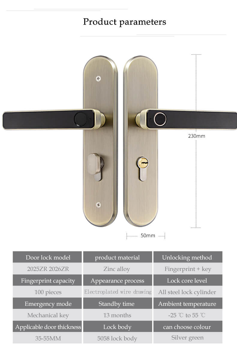 1624601928 %E8%AF%A6%E6%83%85 06 - RFID Card Access Hotel Electronic Door Lock System SL-H2025