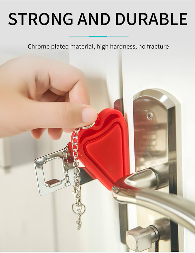 1626415663 %E8%AF%A6%E6%83%85 04 - New Portable Travel Door Lock For Hotel And Apartment Doors SL-PDA