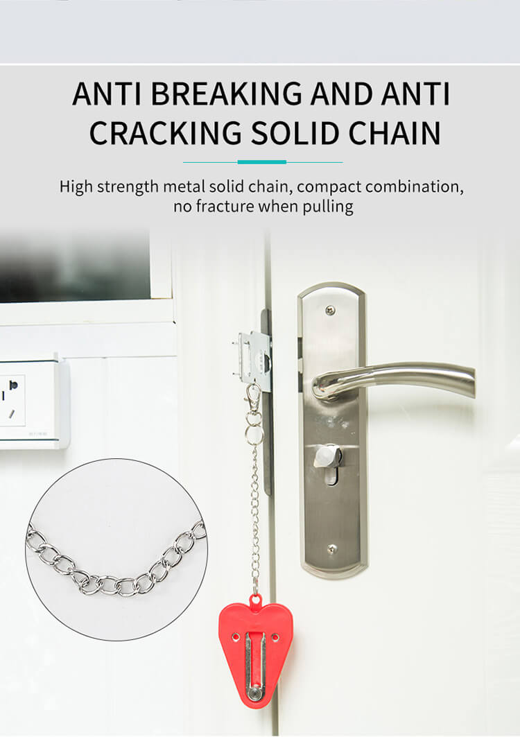 1626415666 %E8%AF%A6%E6%83%85 06 - New Portable Travel Door Lock For Hotel And Apartment Doors SL-PDA
