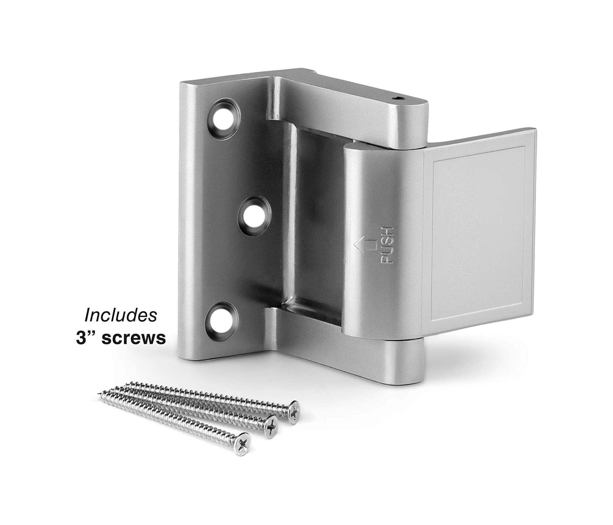 Custom Double Hotel Door Security Latch For Good Quality HL-126
