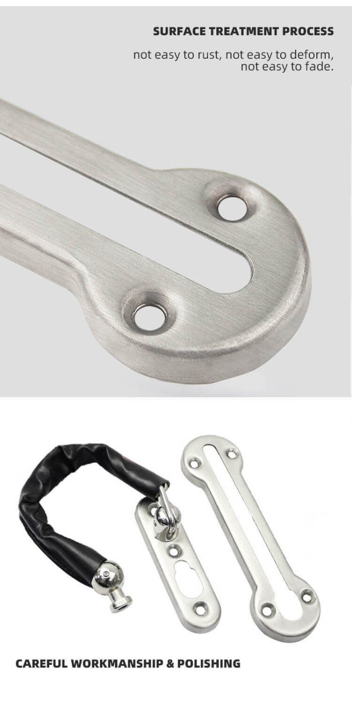 resize,m fill,w 701,h 1410# - High Quality Hotel Room Chain Lock For Hotel Door Safety HC-01S